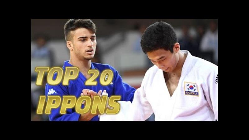 柔道 JUDO | TOP 20 IPPONS 2016 | Judo Ukemi