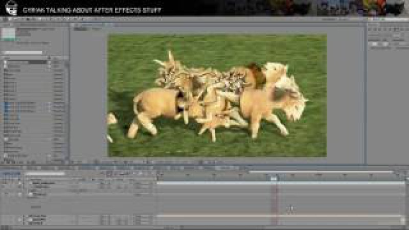 After Effects Sunday Stream: Baaa!