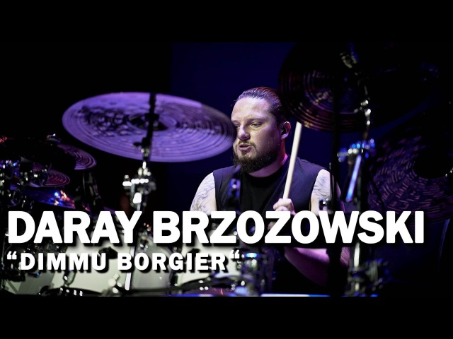 "Meinl Cymbals Daray Brzozowski ""DIMMU BORGIR"" - Meinl Drum Festival Video"