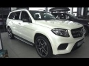 2016 Mercedes-Benz GLS 350d 4MATIC X166. Start Up, Engine, and In Depth Tour.