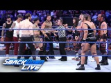 SmackDown Tag Team Champions American Alpha issue an Open Challenge SmackDown LIVE, Jan. 31, 2017