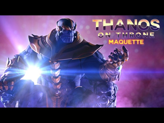 Inside Look: Thanos Maquette