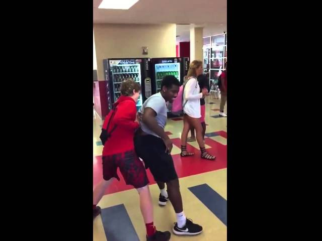 Kid Hits Teacher In The Face With a Fade Away Bottle Shot