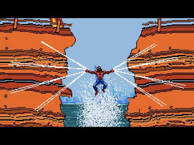 «Человек-Паук: Возвращение Домой» 8-битный трейлер