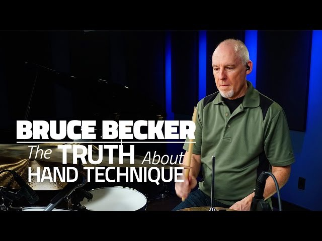 Bruce Becker: The Truth About Hand Technique - Drum Lesson (Drumeo)
