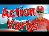 Action Verbs  Reading &amp Writing Song for Kids  Verb Song  Jack Hartmann
