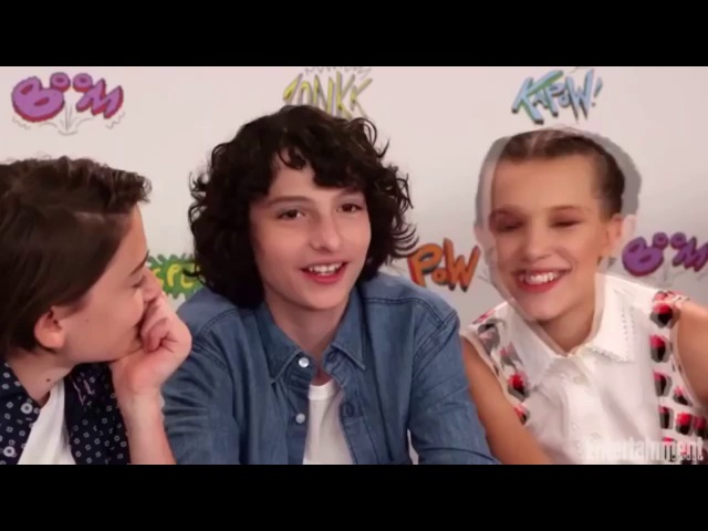 Millie Bobby Brown and Finn Wolfhard - Funny/Cute moments part three