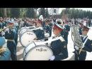 Военный парад участников Спасской башни-2017 в Парке Победы