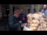 MISSION IMPOSSIBLE 6 CHRIS McQUARRIE SIGNING AUTOGRAPH AFTER FILMING THE LAST TAKE 2017.05.23