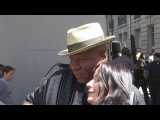 MISSION IMPOSSIBLE 6 VING RHAMES TAKING SELFIES WITH FANS, SIGNING AUTOGRAPHS IN PARIS 2017.05.23