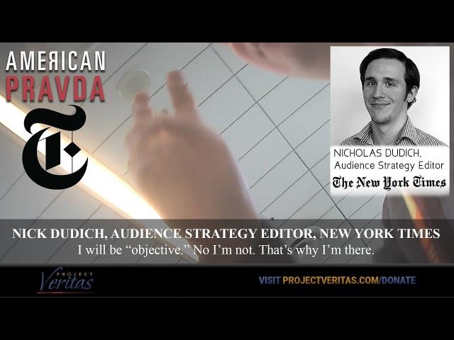 American Pravda, NYT Part I – Slanting the News A Bizarre Comey Connection