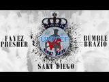 Unicef Kingz Battle | 1/4 FINAL ELECTRO | Fayez x Presher vs Saku x Diego vs Bumble x Brazio