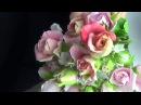 Бутончики Розы из ХФ в разных вариациях от Риты Rose buds of cold porcelain by Rita