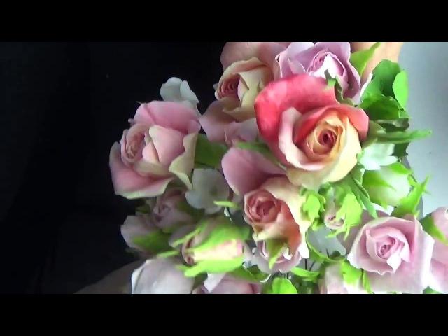 Мастер Класс Бутоны Розы из ХФ в разных вариациях от Риты. Rose buds of cold porcelain by Rita