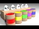 Мультик. Киндер сюрприз. Учим цвета. Яйца с сюрпризом. Learn colors with surprise eggs