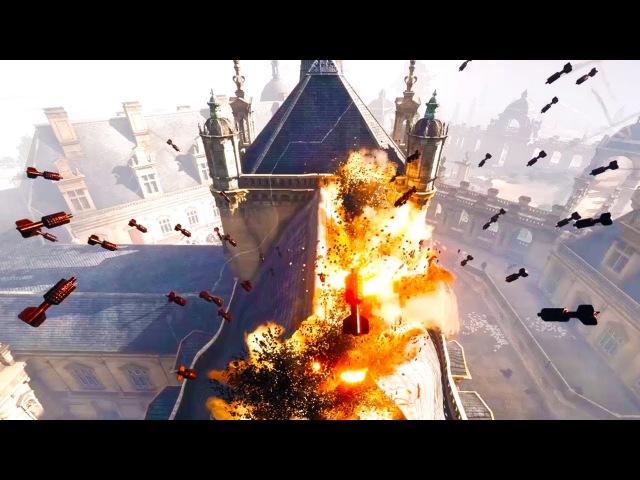 Battlefield 1 64 Man Epic Destruction - BF1 Multiplayer gameplay The DooM49ers