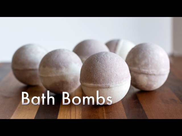 DIY Bath Bombs How-To Video with Recipe - Making Unmolding