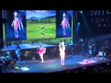 Natalia Oreiro Nasha Natasha Tour 2014 in Nizhny Novgorod