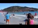 Он просто снимал море и пляж, как вдруг