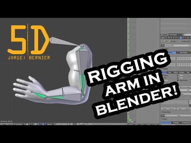 Blender Arm Rigging: IK FK Setup - Plus Stretching Bones