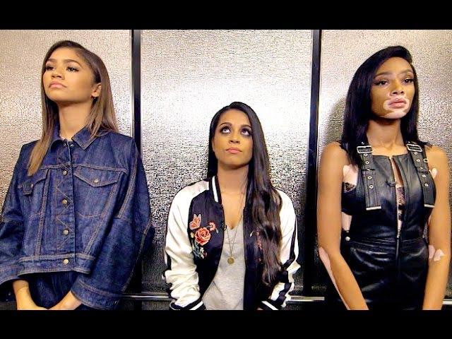 Three Girls, One Elevator (ft. Zendaya Winnie Harlow)