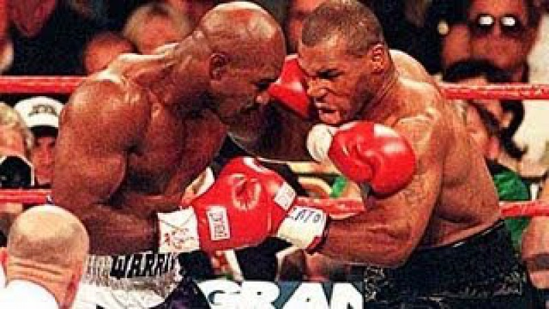 Mike Tyson vs Evander Holyfield II