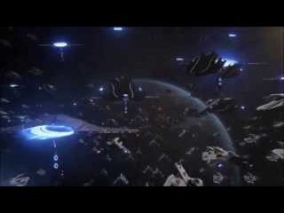 Epic Space Battle with Epic Music ( Mass Effect 3 and EVE Online Montage / Protectors of the Earth )