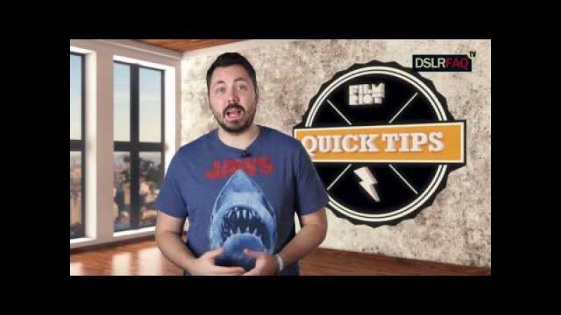 5 простых трюков при съемке видео