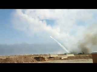 Battle of Mosul: American HIMARS launcher open fire on ISIS targets