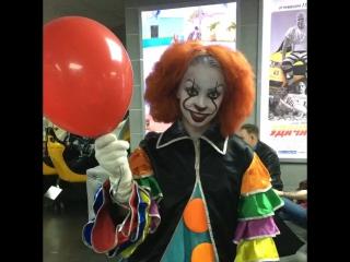 Злобный клоун Пеннивайз в Современнике