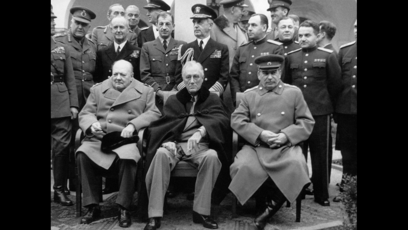 Покер-45. Сталин, Черчилль, Рузвельт