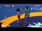 Чемпионат Мира по борьбе 2017 Финалы женщины вольная борьба 23 августа 2017 H.Okuno vs O.Adekuoroye