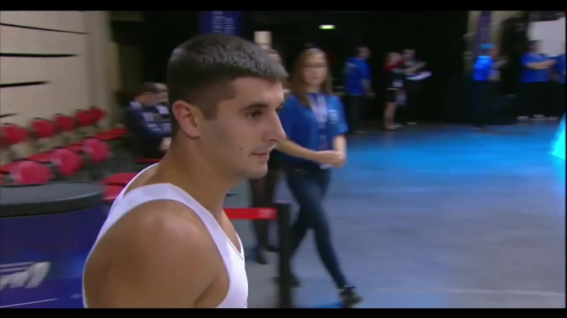 Tagir Murtazaev - Tumbling World Cup 2016
