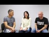 Разговор с Игорем Губаревым, Оксаной Антоновой и Андреем Федоровым на тему выпускных книг и фотосъемки детей в целом.