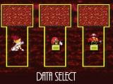 Меню персонажей Sonic.EXE. (В мобильной версии!)
