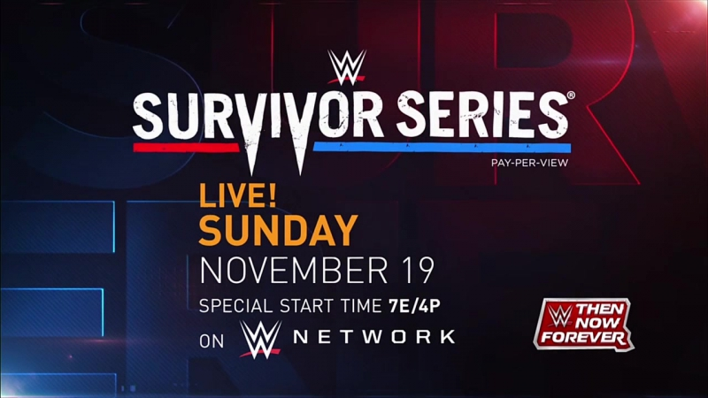 Промо Survivor Series 2017