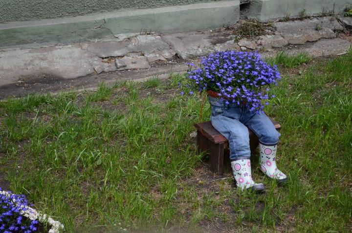 Креативные идеи для украшения дачи и сада своими руками
