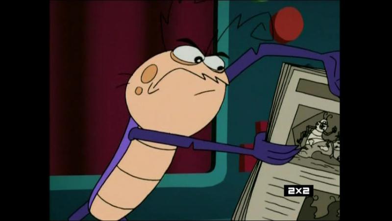 Таракан-робот/Robo Roach 2x17 - Оборотень / Таракан с дистанционным управлением