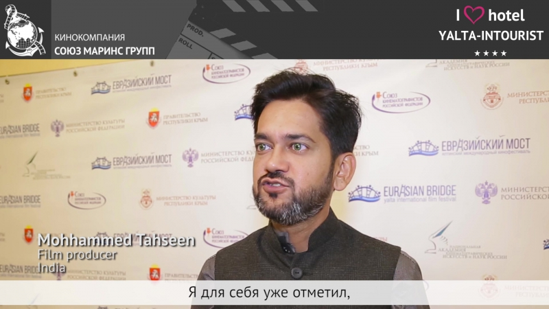 The guest from India likes Yalta-Intourist Hotel in Crimea because it is very enormous