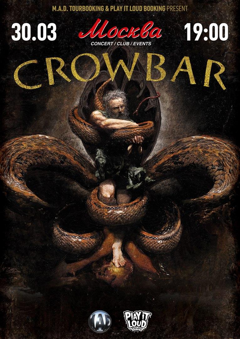 анонс концерта CROWBAR