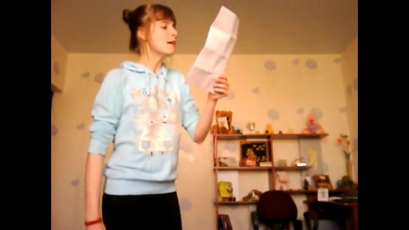 Девочка читает реп (припев нравится)