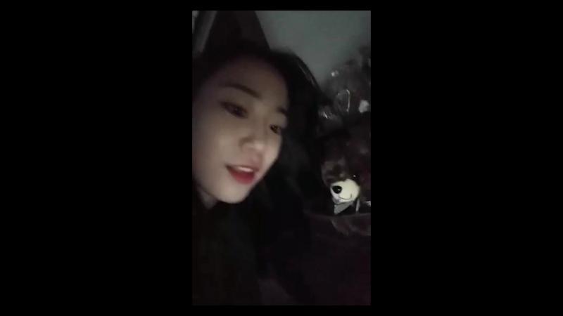 17.11.10 Heo Youngji Instagram Live