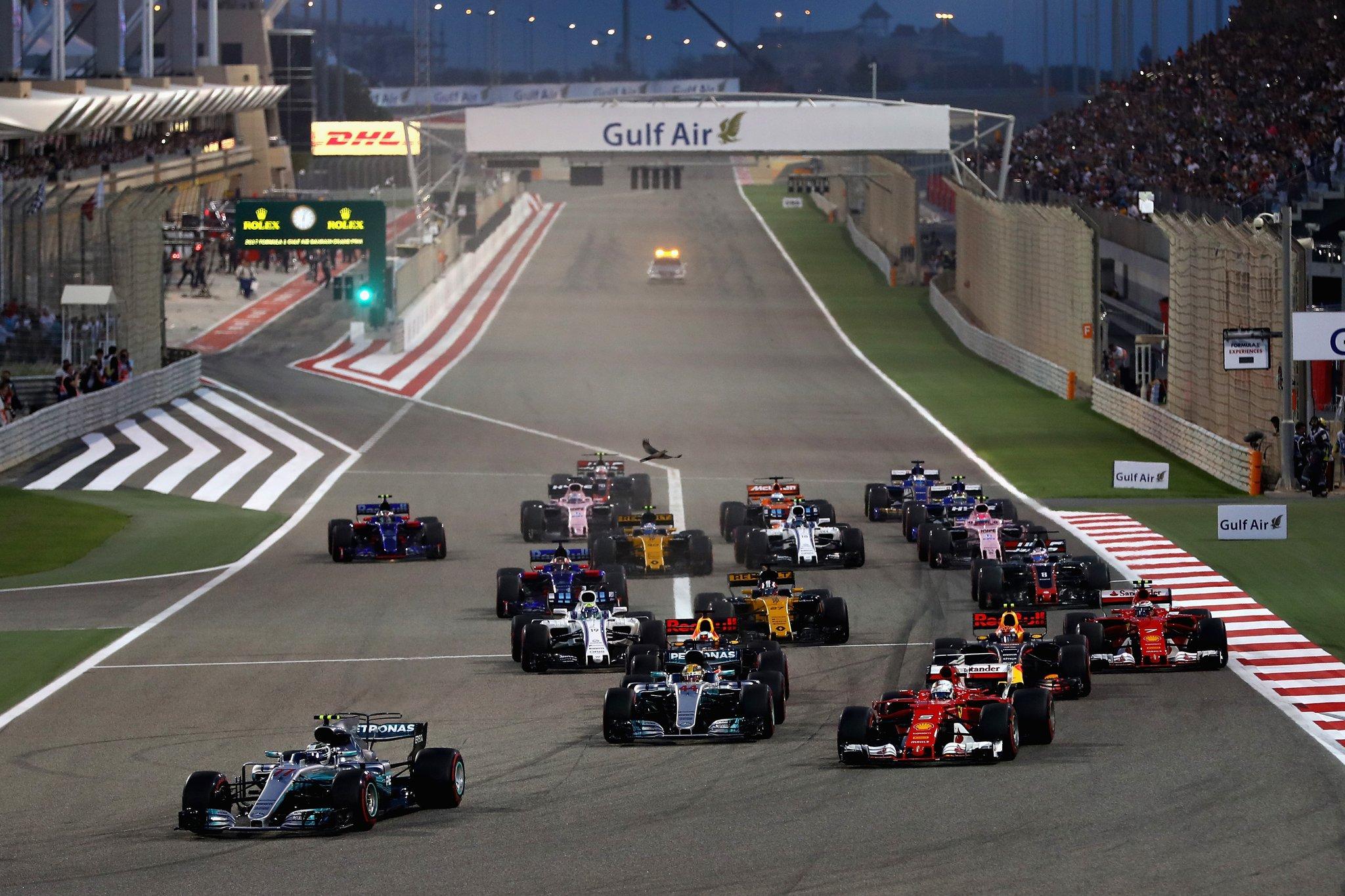Старт гран-при Бахрейна
