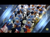 Парад оркестров: праздничный марш учащихся в честь Дня защиты детей