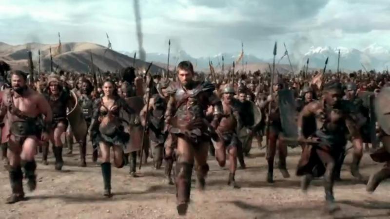 Спартак не сломается, и пройдет все испытания судьбы. (трейлер)