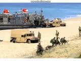 НАТО в Португалии - высадка на побережье