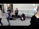 Сплин - Выхода нет. Уличные музыканты в Питере. 09.05.2016