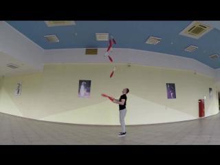 Тренировка жонглера