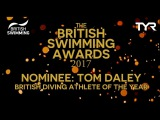 Diving Athlete of the Year Nominee Tom Daley