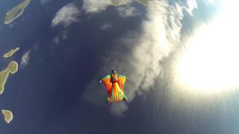 Wingsuit skybase/соловецкие острова о.Большой заяцкий